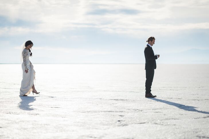 First Look on Bonneville Salt Flats