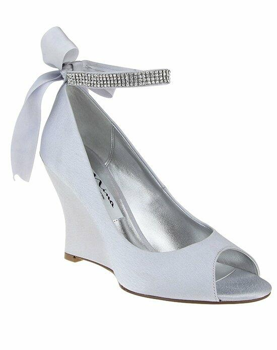 Nina Bridal EMMA_SILVER Wedding Shoes photo
