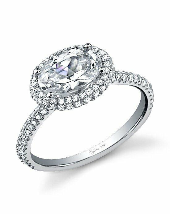 Sylvie Collection SY630 Engagement Ring photo