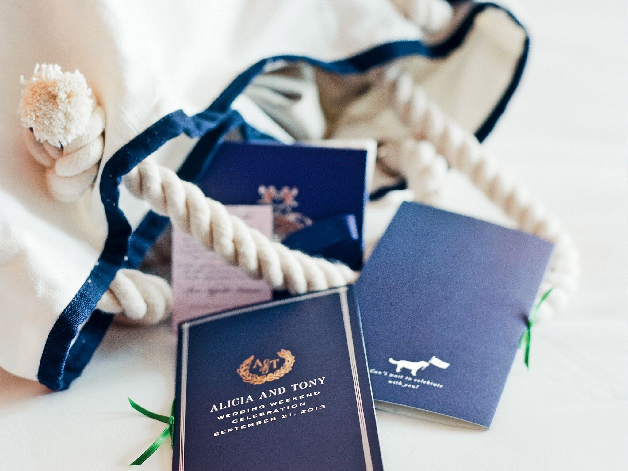 What Goes In The Welcome Bag Destination Wedding