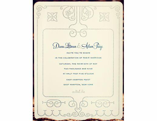 50 Favorite Wedding Invitations