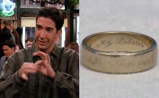 Lobster Ring: YouTube / TheKnot.com