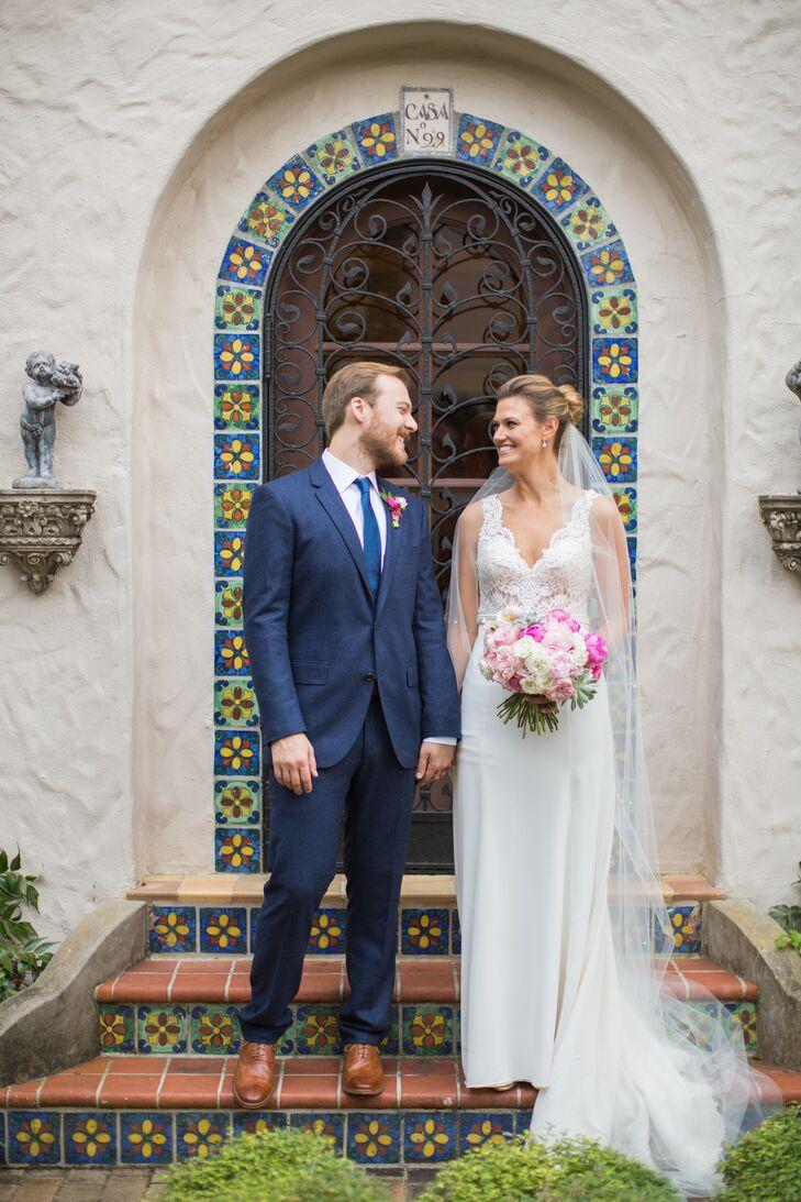 An Alfresco Southwestern Wedding At Mcnay Art Museum In San Antonio Texas