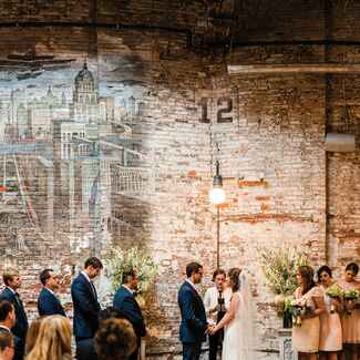 Houston Hall wedding reception