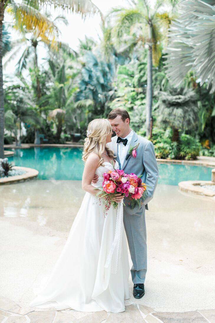 Beach destination wedding at the caribbean resort for Destination weddings in the caribbean