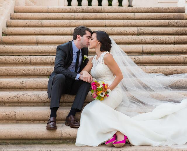 A Fun Wedding At The Biltmore Hotel In C Gables Florida