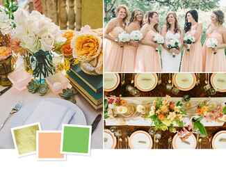 Unexpected wedding color combos that totally work