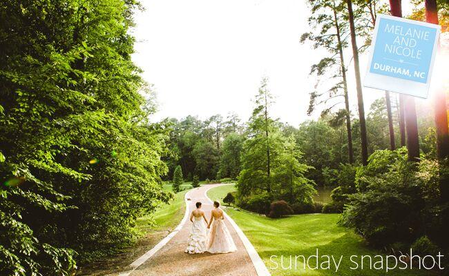 Happy Sunday! From a Formal Wedding in Durham, North Carolina…