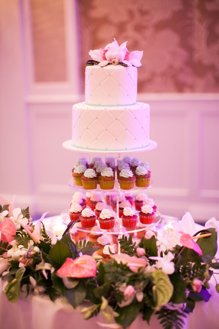 Cupcake and Wedding Cake Assortment
