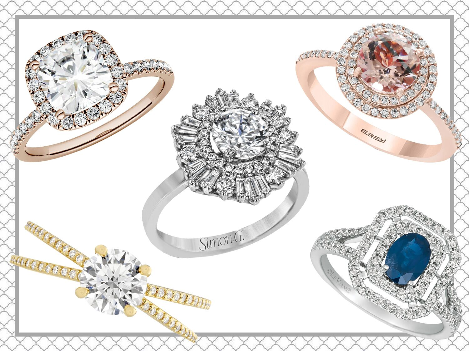 15 Popular Engagement Ring Trends