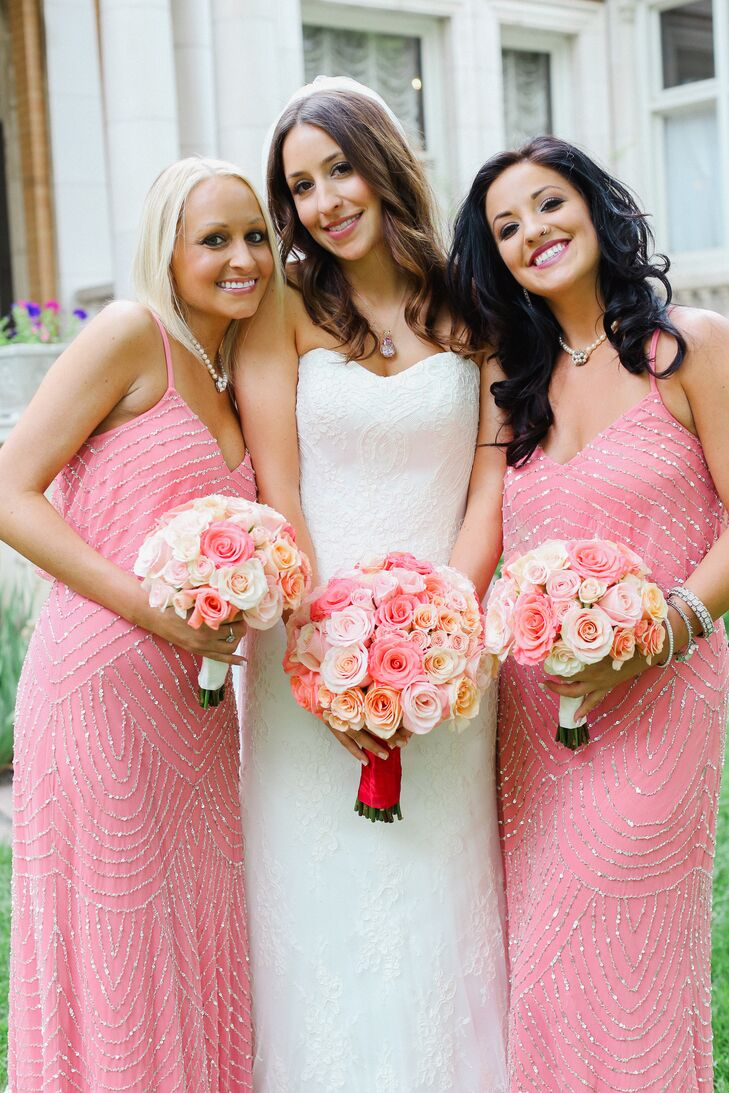 Nordstrom Bridesmaid Dress | Sequin Pink Nordstrom Bridesmaid Dresses