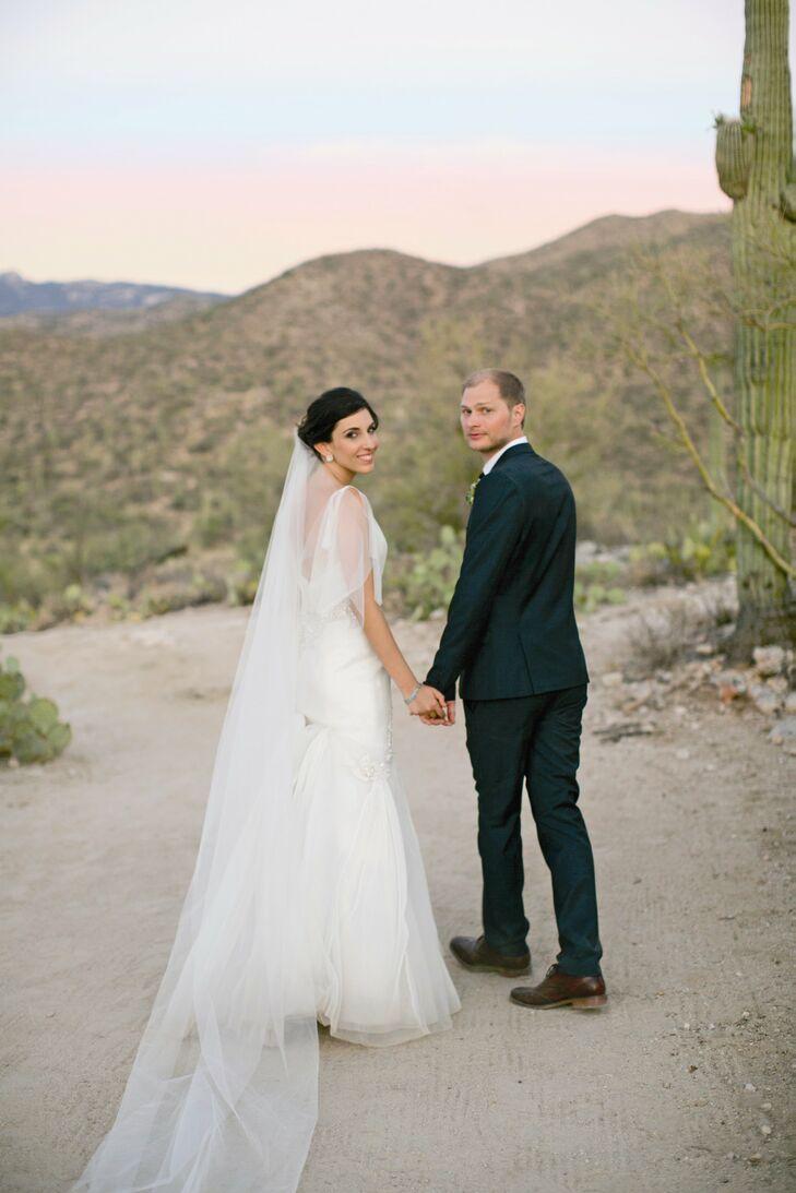 A Romantic Desert Wedding in Tucson, AZ