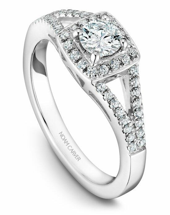 Noam Carver B100-03WS-100A Engagement Ring photo