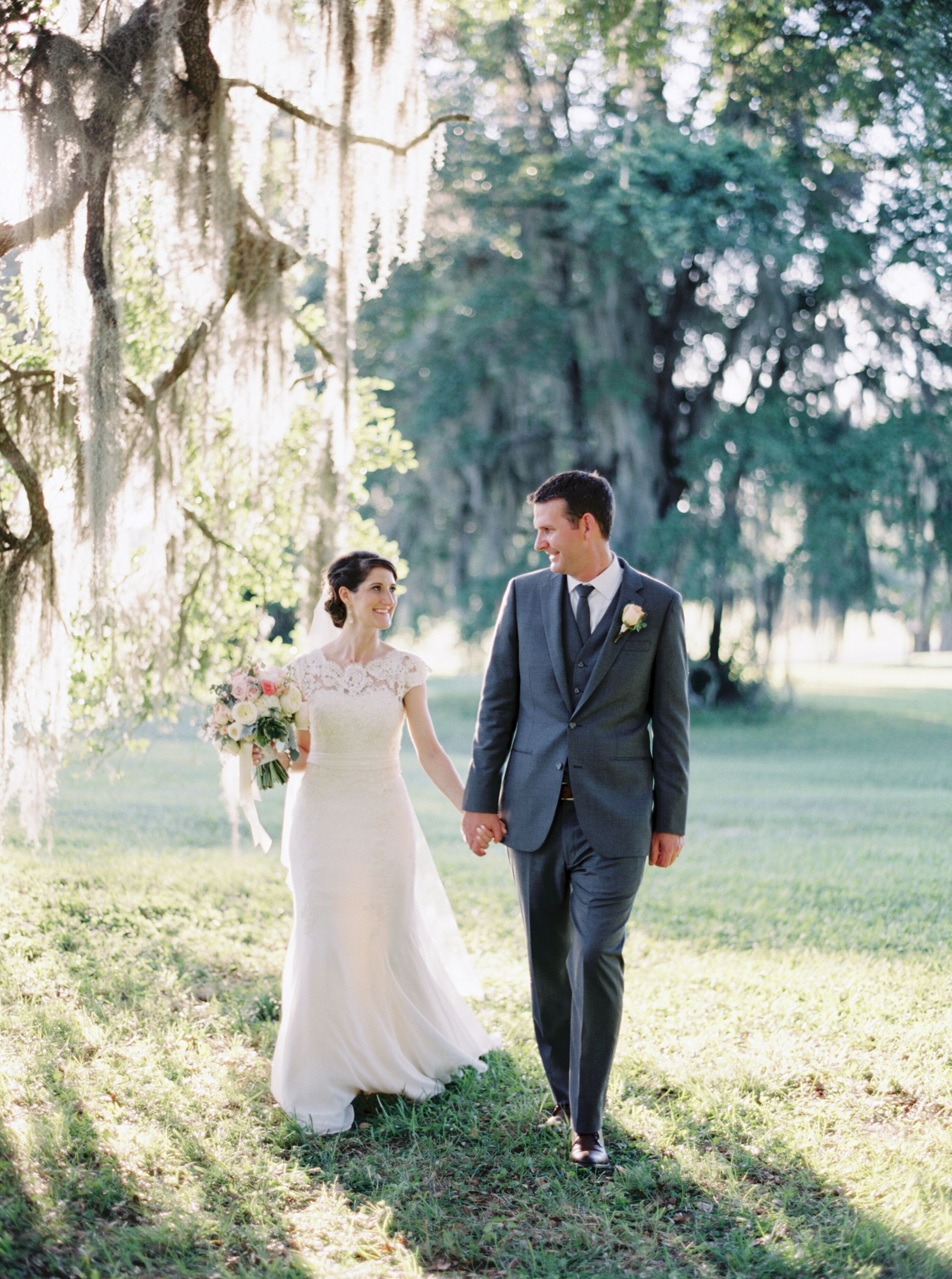 A Southern Garden Style Wedding At Southwood House And Cottages In Tallahassee Florida,Wedding Dresses For Men And Women In India