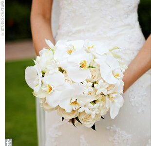 White orchid wedding bouquet white orchid wedding bouquet favorite arwen carried a classic bouquet of roses orchids and stephanotis she wrapped the mightylinksfo
