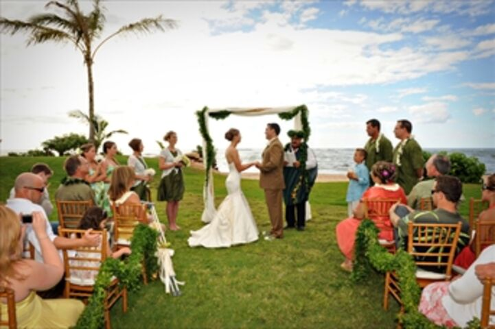 Beach Wedding Ceremony Oahu: North Shore Oahu, HI