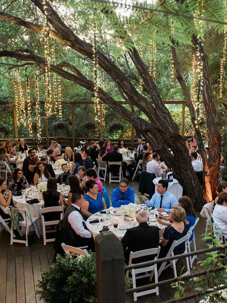 lighting ideas for outdoor weddings