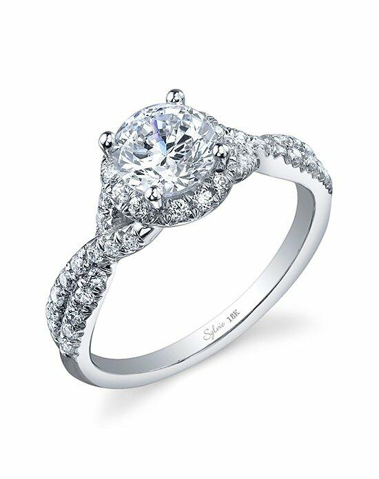Sylvie Collection SY892 Engagement Ring photo