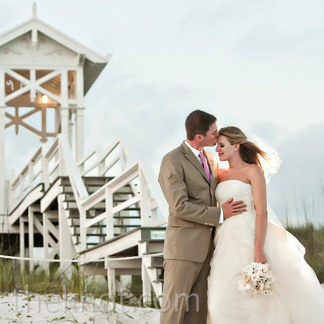 A Romantic Casual Wedding In Carillon Beach, FL