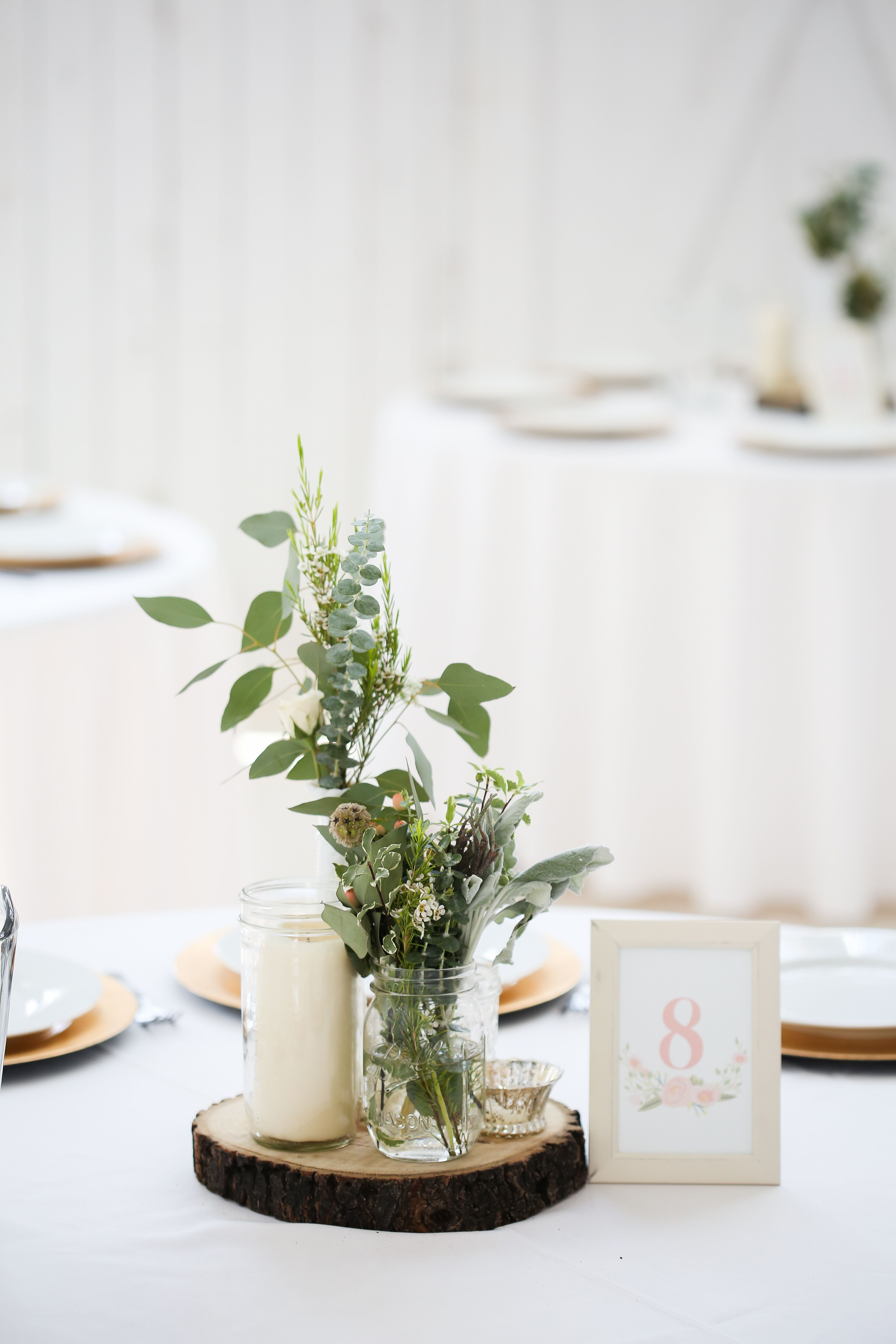 Nature Inspired Centerpieces