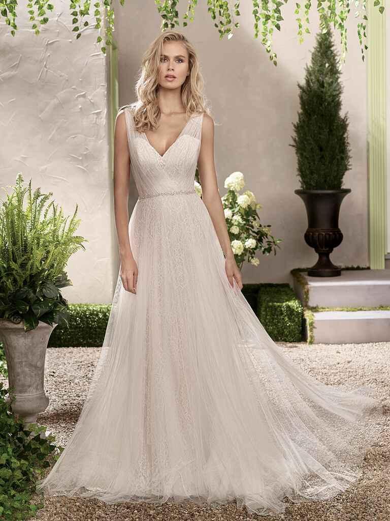 Jasmine collection spring 2017 bridal fashion week photos for Jasmine collection wedding dress