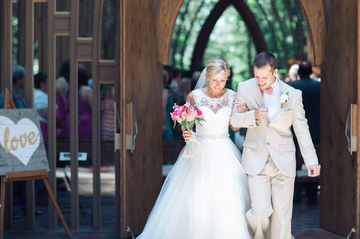 A Bright Wedding At Tavola Trattoria In Bentonville Arkansas