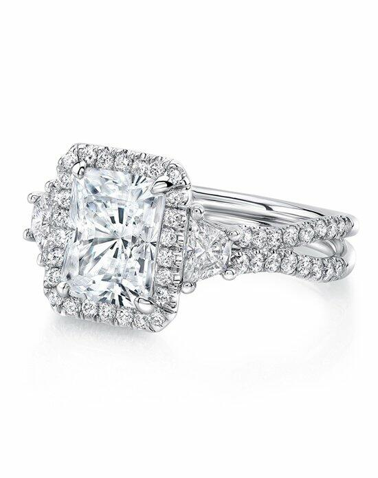 Uneek Fine Jewelry LVS983RAD Engagement Ring photo