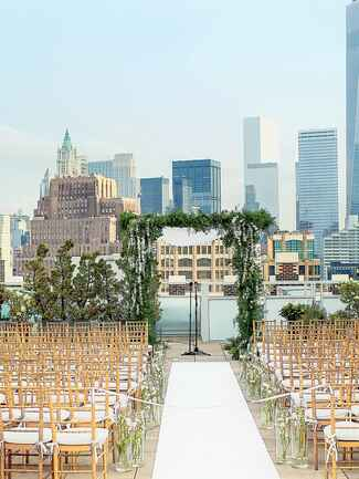 Tribeca Rooftop wedding in New York