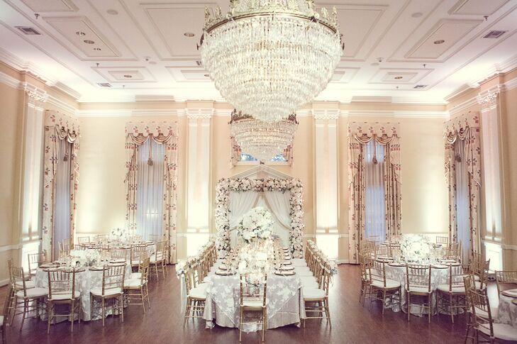 Elegant Wedding Decor : Romantic fairy tale reception decor