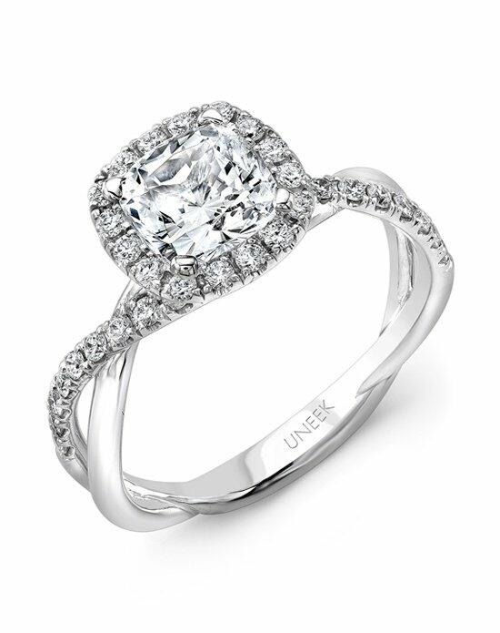 Uneek Fine Jewelry SM817CU-6.5RD Engagement Ring photo