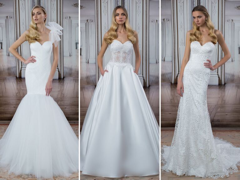Pnina Tornai wedding dresses from the LOVE collection at Kleinfeld in New York City