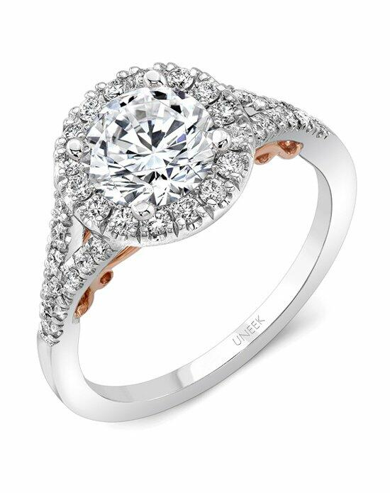 Uneek Fine Jewelry A104RDWR-6.5RD Engagement Ring photo