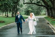 Emily Turner and Daniel Bowen pulled off a chic, sophisticated fete with a hint of Southern charm for their spring wedding in Savannah, Georgia. With