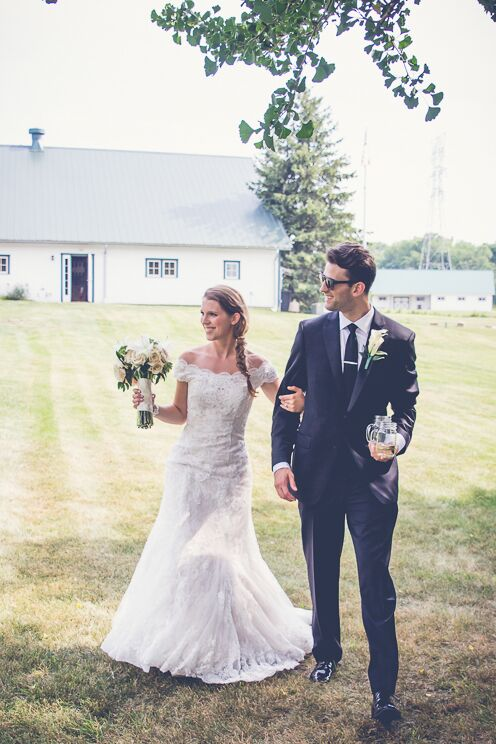 A Rustic Barn Wedding At Little Brook Meadows In Lancaster