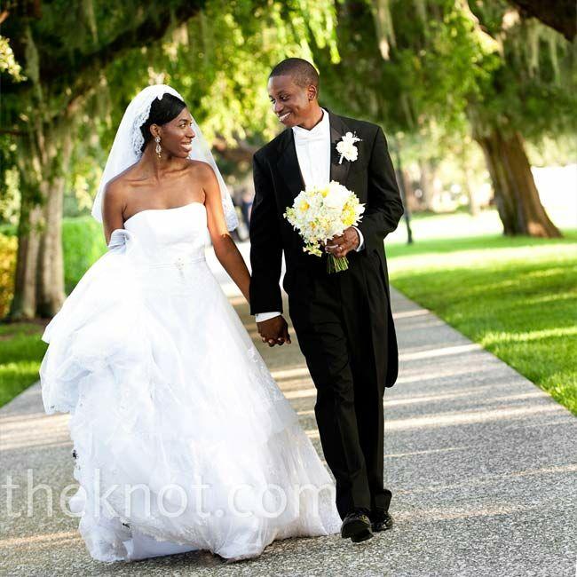 Real Weddings Study: An Outdoor Wedding In Jekyll Island, GA