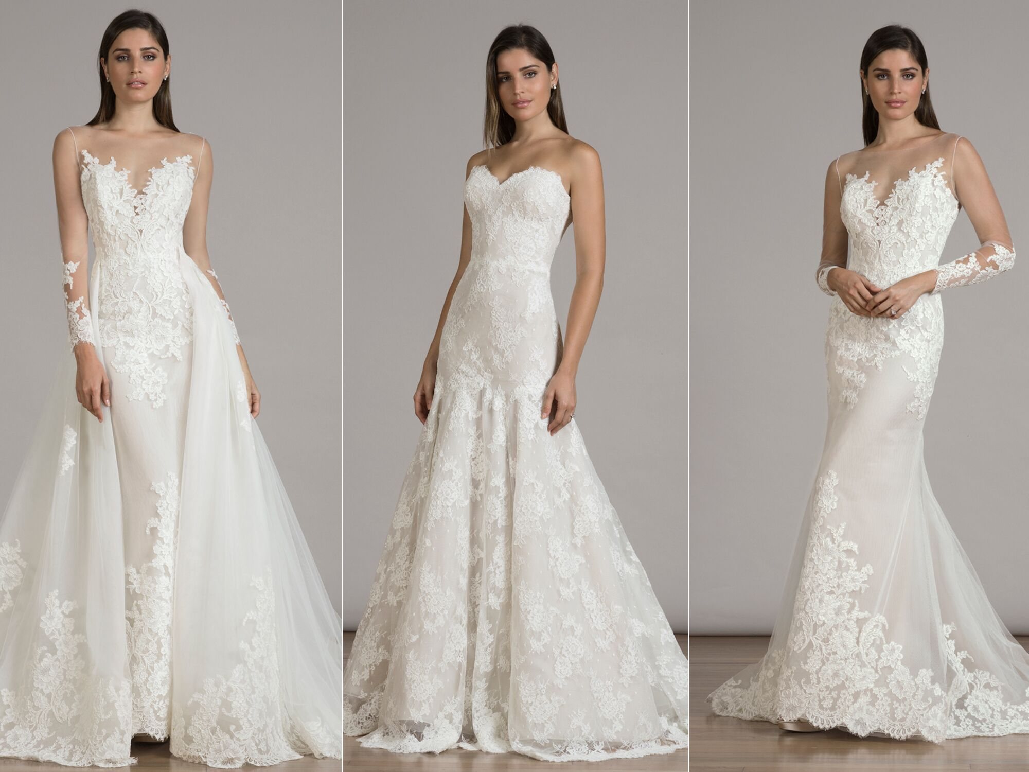 See Every Elegant Liancarlo Wedding Dress for Fall 2016 Here