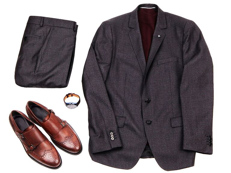 What to Wear With Brown Shoes: Suit Color Combinations