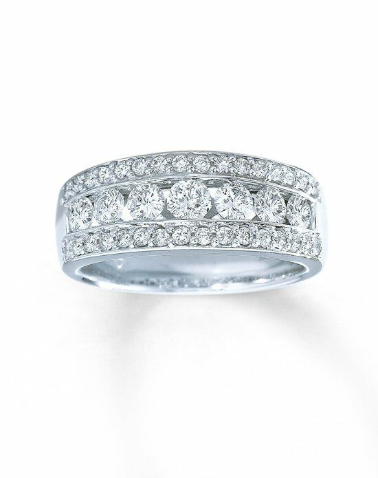 Kay Jewelers Diamond Ring 1 ct tw Round-cut 14K White Gold Wedding Ring photo