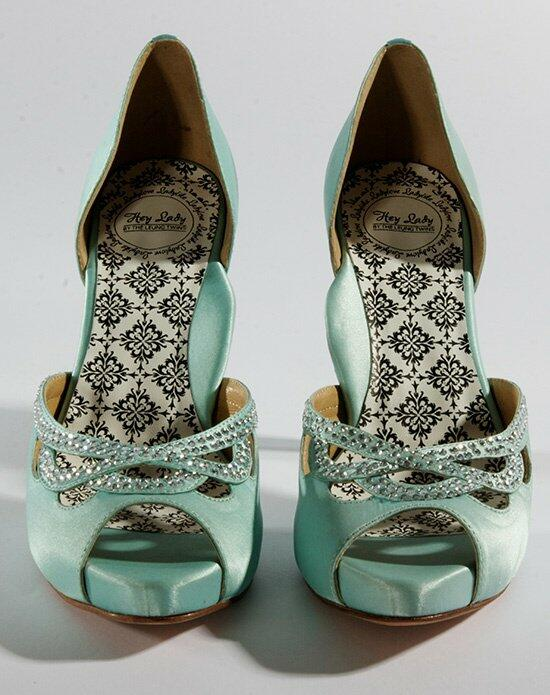 Hey Lady Shoes Knotty Girl Robins Egg Wedding Shoes photo