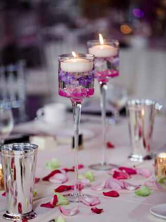 wedding table decor with candles wedding centerpieces with candles 1170