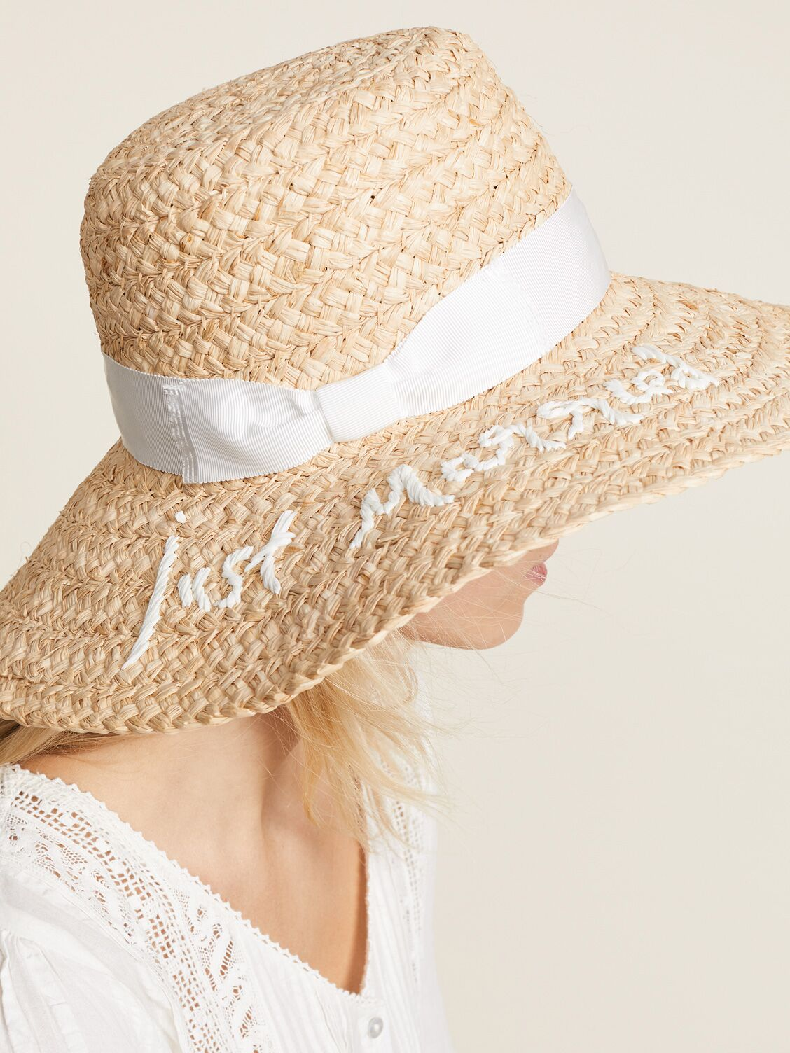 c722b2068aef1 Floppy Sun Hats With Writing for Honeymoon