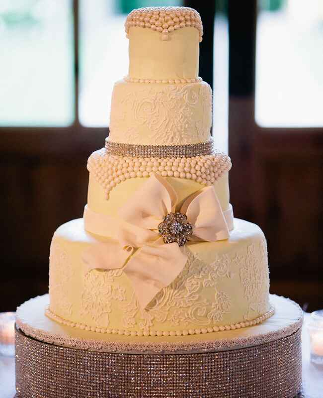 Wedding Cake // John & Joseph Photography // Planner: Details Details // Location: Ponte Winery