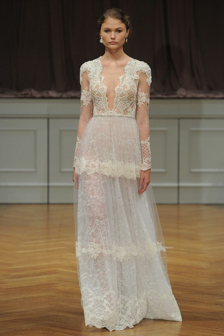 Alon Livne Fall Collection Bridal Fashion Week Photos