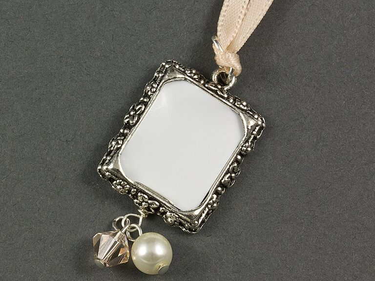 photo frame charm engagement gift ideas