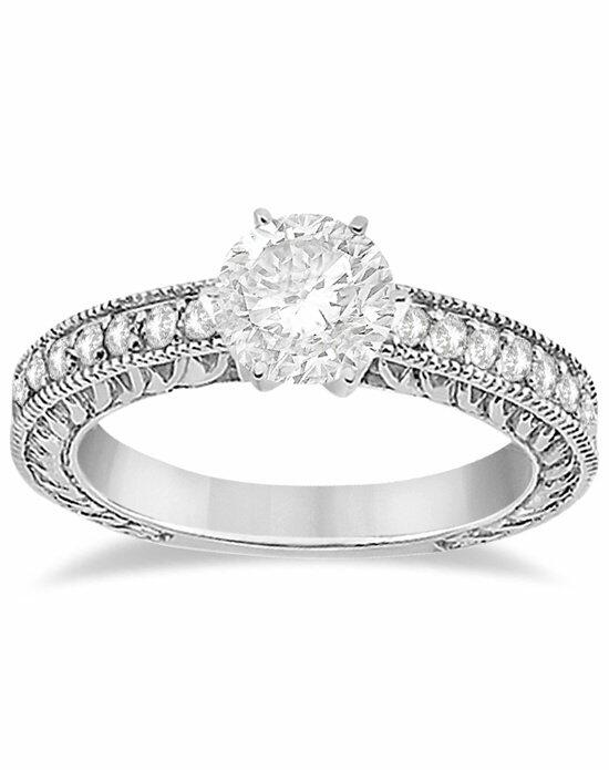 Allurez - Customized Rings U1478 Engagement Ring photo
