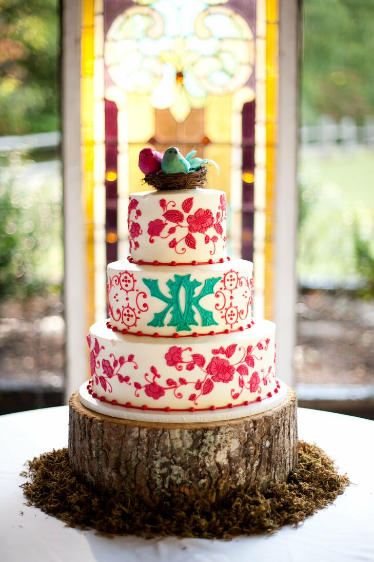 wedding cakes rome ga a vibrant country wedding in rome ga 25386