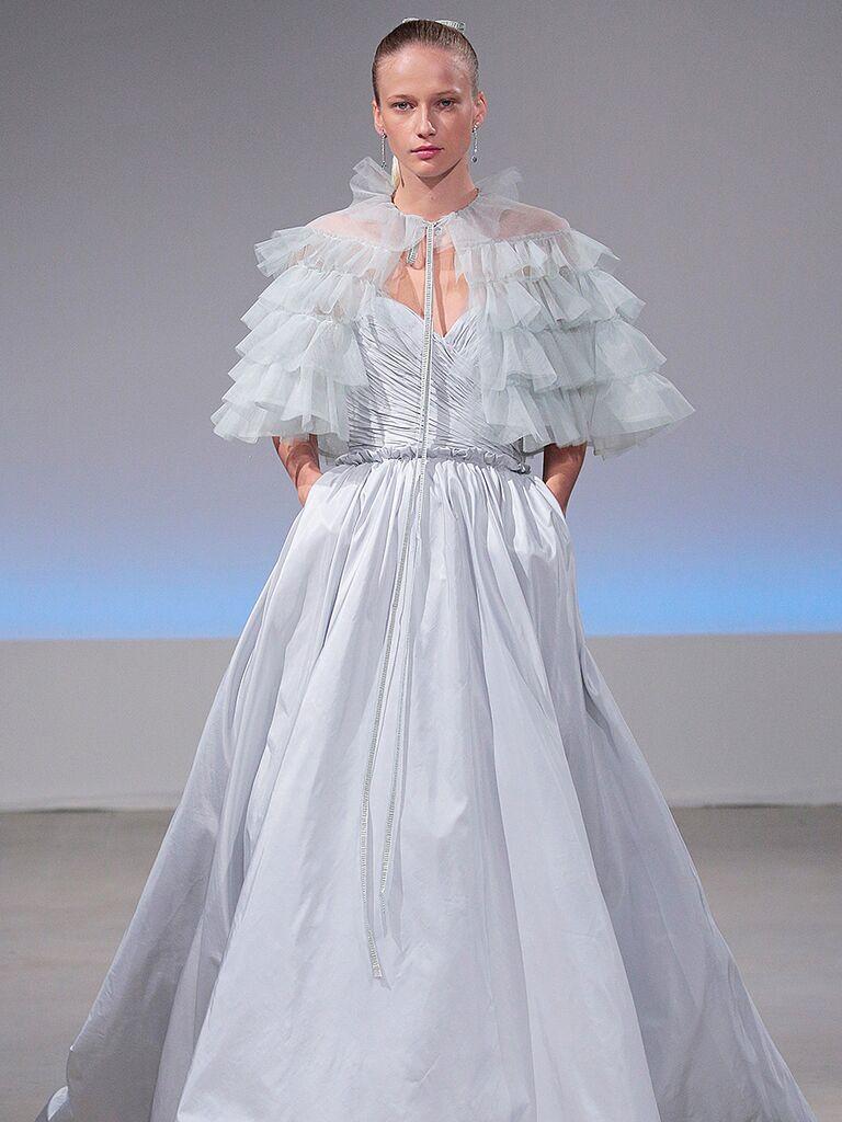 Dreamy Blue Wedding Gowns
