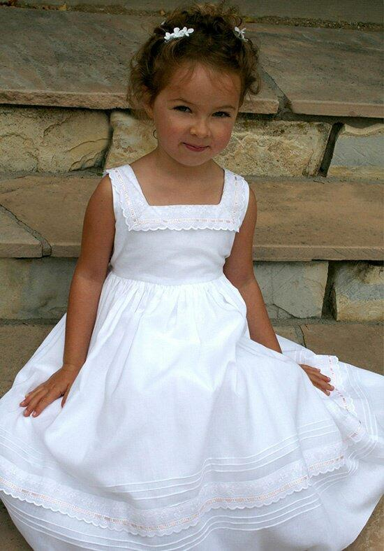 Isabel Garretón Ribbons Flower Girl Dress photo