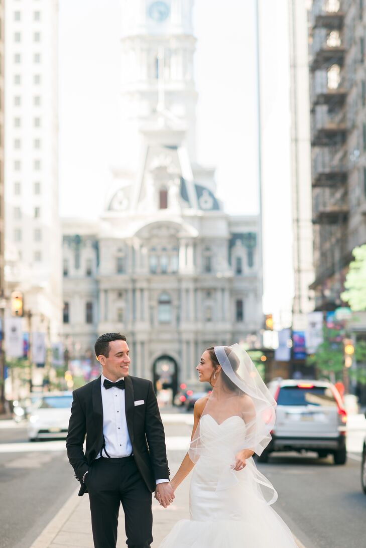 A Classic Wedding With a Historic Twist at Union Trust in ...