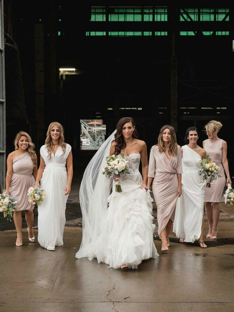 How to choose mismatched bridesmaids dresses the right way mismatched bridesmaids dresses ombrellifo Choice Image